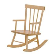 Steffy Wood Products SWP410 Solid Maple Childs Rocker