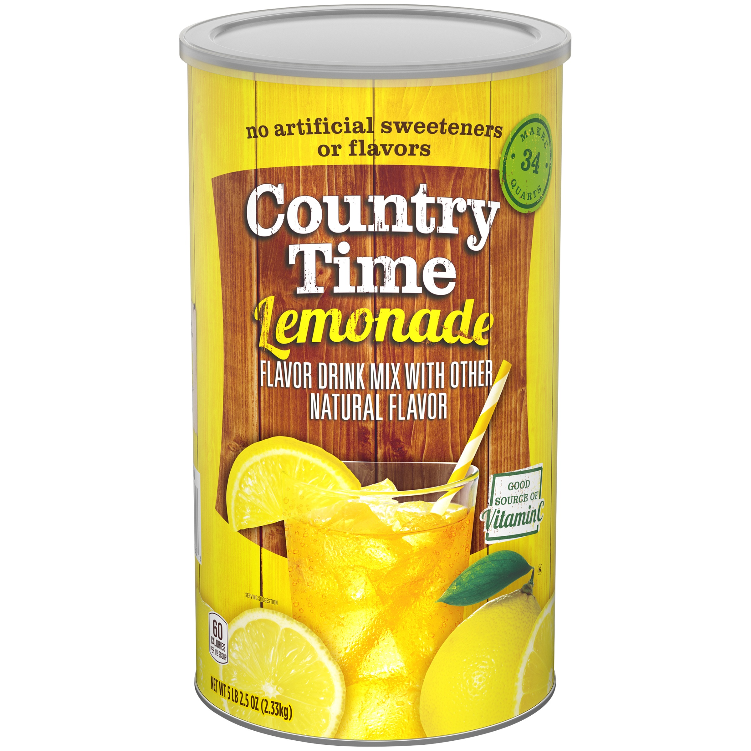 Country Time Lemonade Drink Mix 5.15 lb. Canister