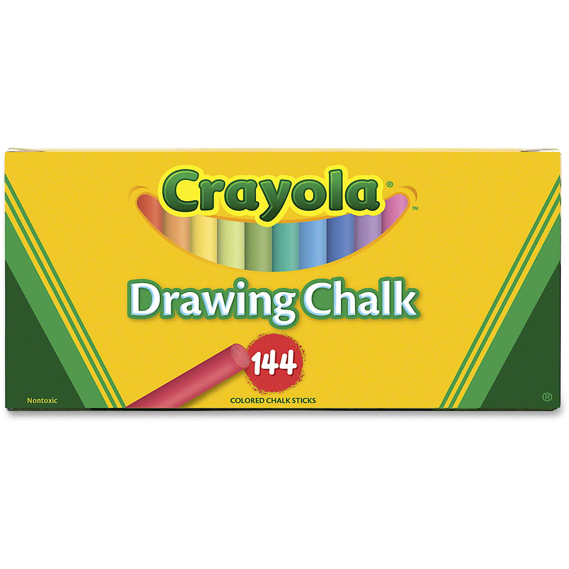 Crayola Drawing Chalk 144 Pkg by Crayola, LLC