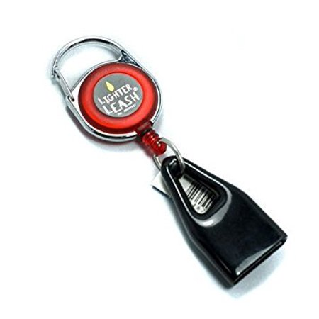 Clip Keychain (Premium Lighter Leash Retractable Keychain Clip)