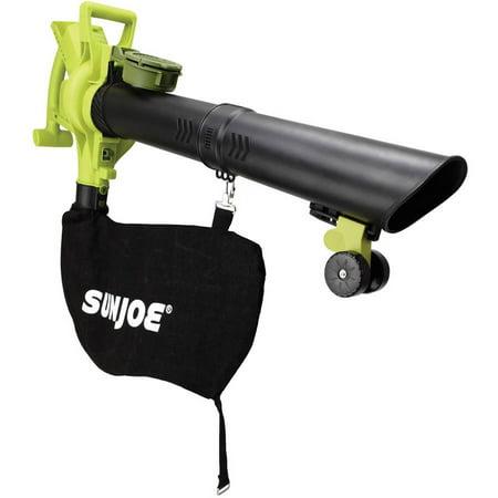 Sun Joe iONBV-CT Cordless 3-in-1 Blower | 200 MPH | 5 Ah | Brushless Motor | Vacuum | Mulcher (Core Tool