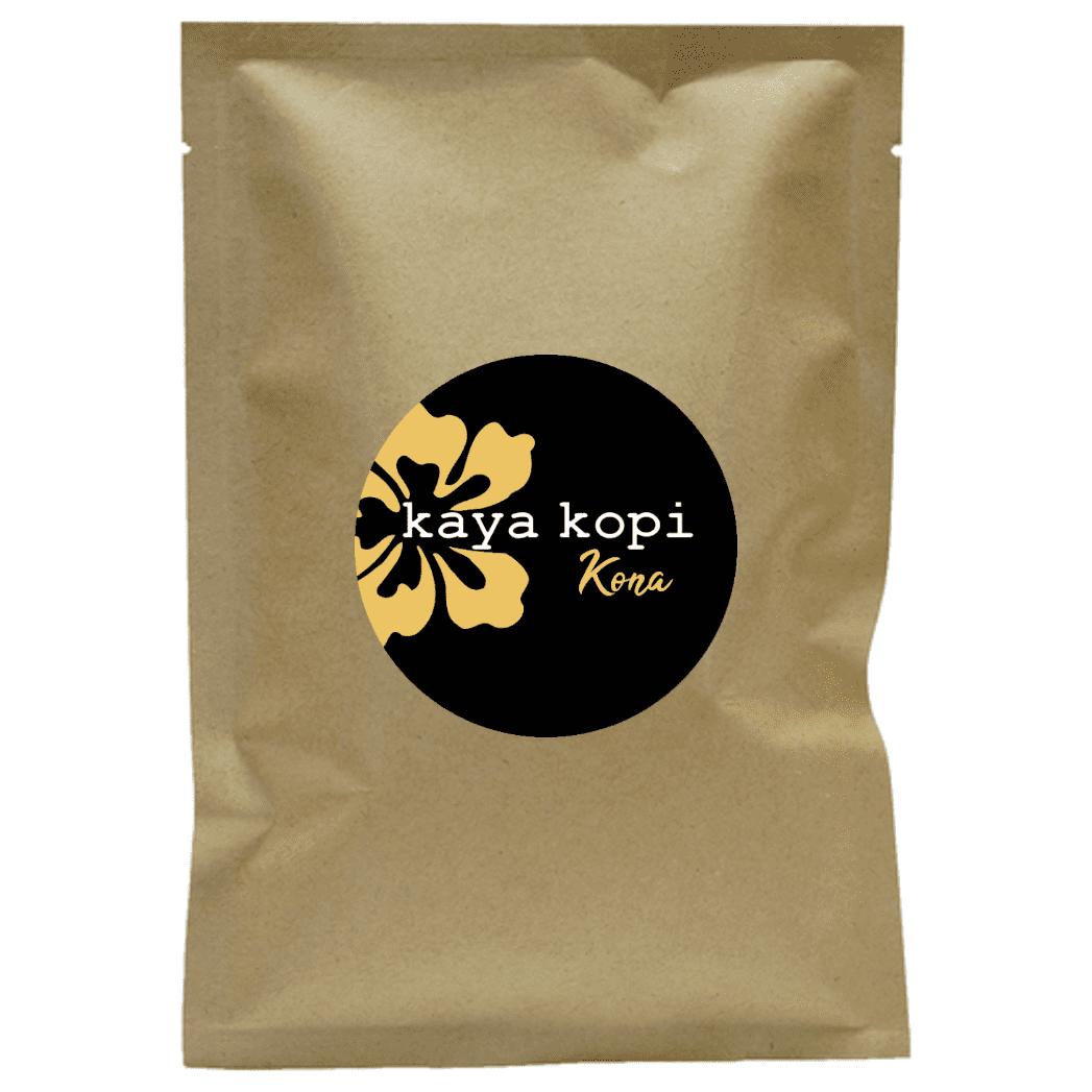 Premium Kaya Kopi Kona From Hualalai And Mauna Loa On Hawaii's Big Island - Medium Roast Robusta Arabica Roasted Coffee Beans (10 Grams)