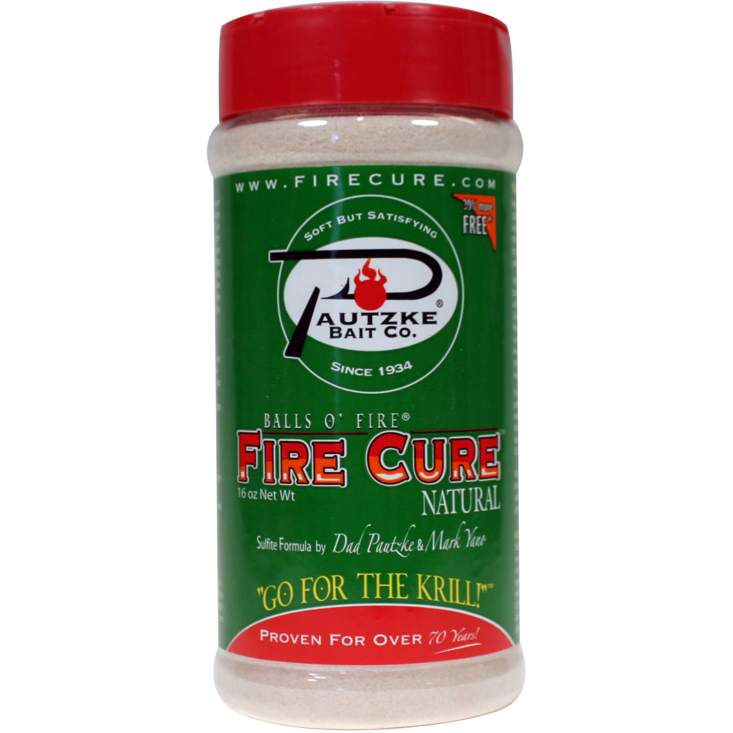 Pautzke Firecure, 16 oz, Red