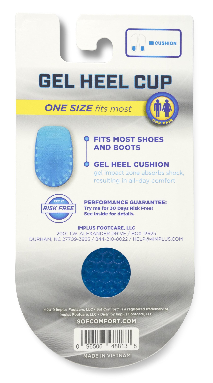 SOFCOMFORT Gel Heel Cup One Size Fits