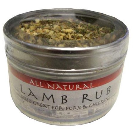 Lamb Rub, 1.5 oz (43g) can (Mini Simply Sweet Rub)