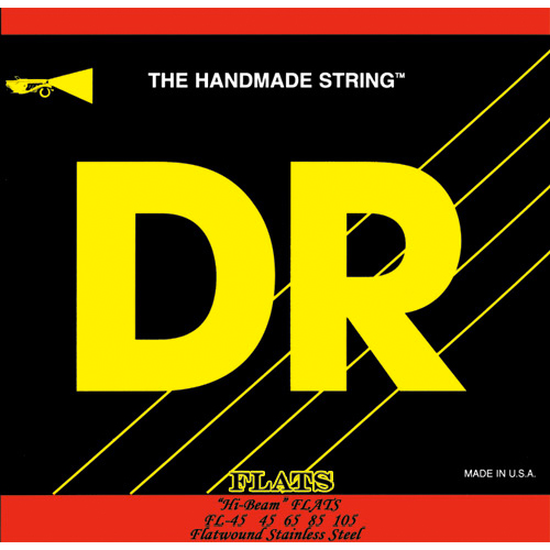DR Strings FL45 Legend Flat Wound Medium Bass Strings by DR Strings