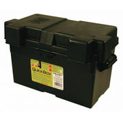 "Quick Cable Battery Box, Black, 17-3/4"" L x10-15/64"" W   120173-360-001"