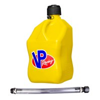 "VP Racing Fuels 5-Gal. Motorsport Liquid Container, Yellow w/ 14"" Standard Hose"