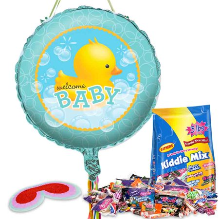 bath baby shower pull string pinata kit baby shower party supplies