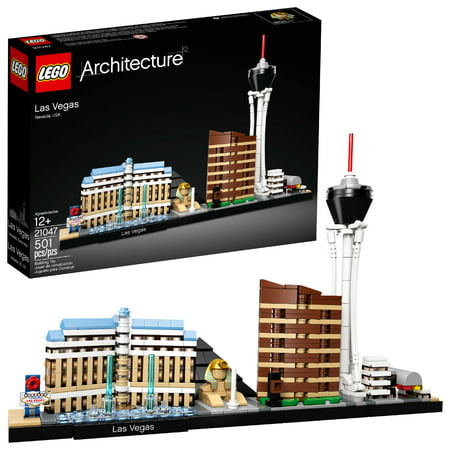 LEGO Architecture Las Vegas 21047 Building Set (501 Pieces)