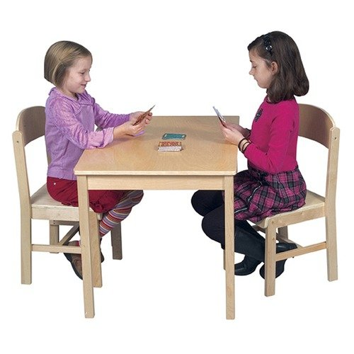 Guidecraft Woodscape Kids' 3 Piece Writing Table