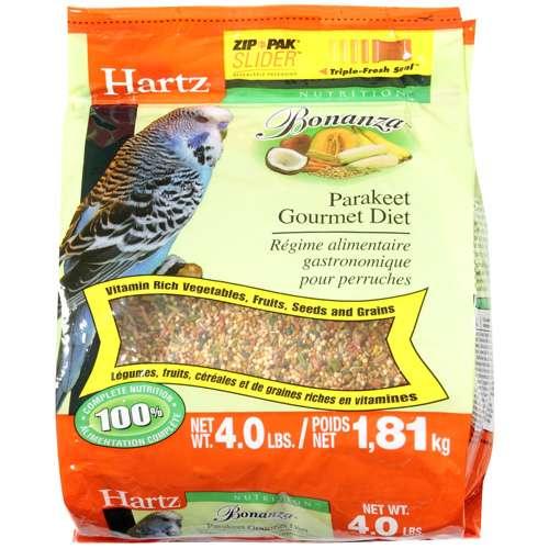 Hartz Mountain 4lb Parakeet Food 3270097625