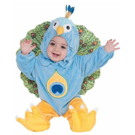 Infant Toddler Child Peacock Bird Animal Jumpsuit Cute Baby Halloween Costume