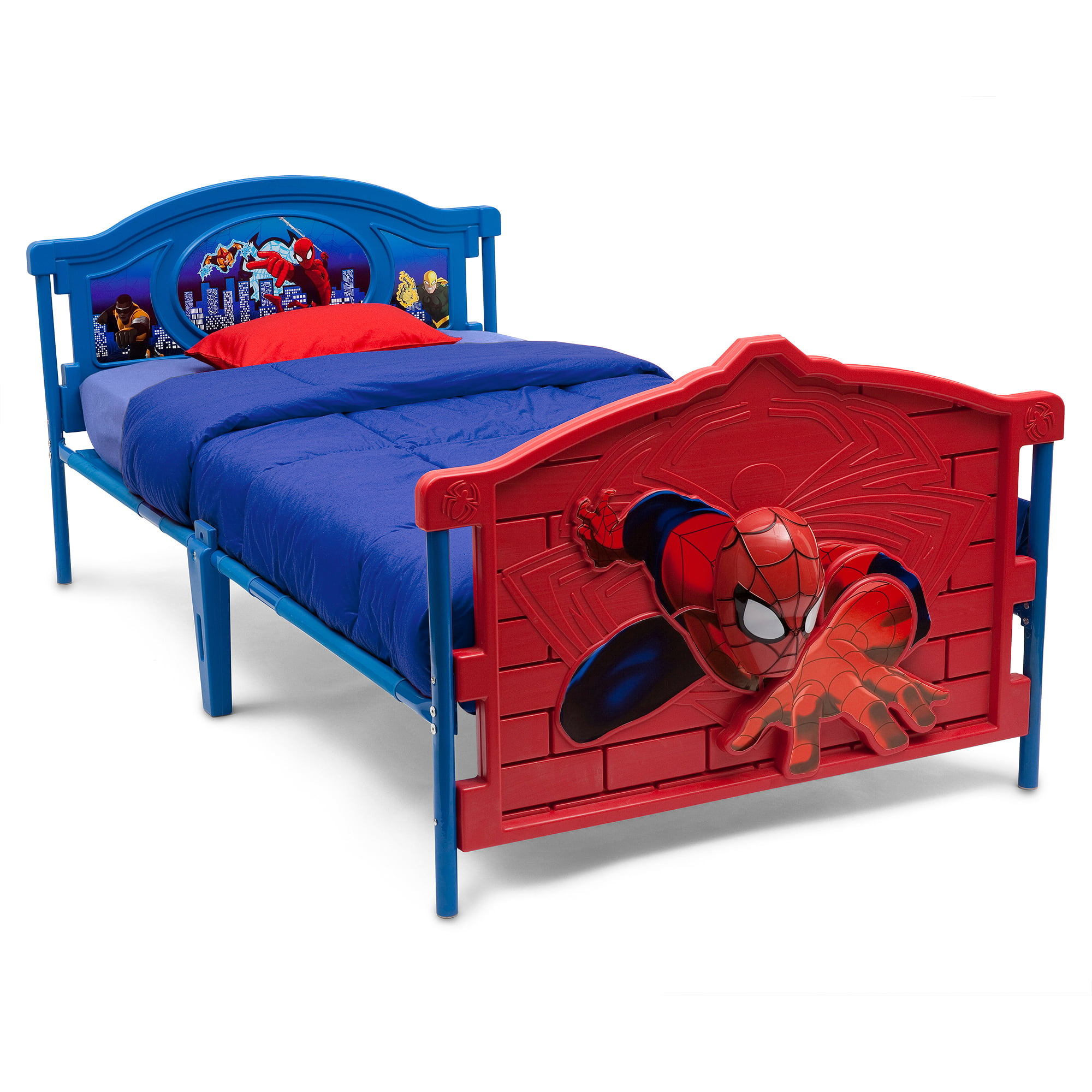 Marvel Spider-Man 3D Twin Bed - Walmart.com