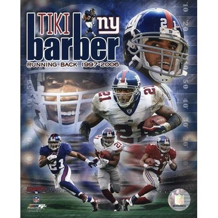 Tiki Barber - Legends Composite Sports Photo