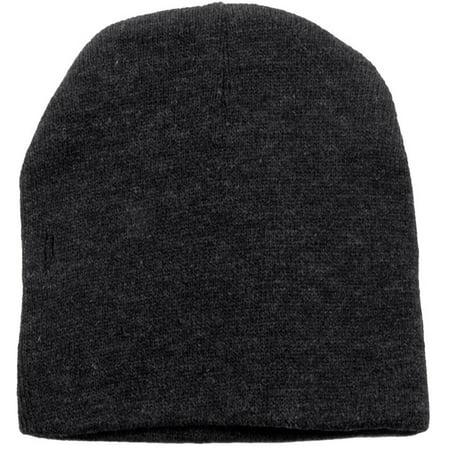Men / Women's Winter Acrylic Knitted Beanie, 1036_Charcoal ()