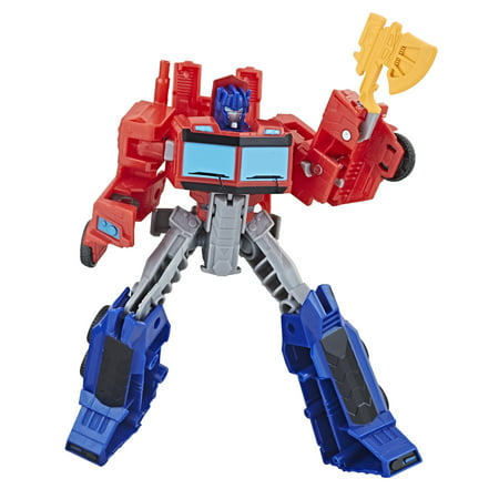 Transformers Cyberverse Warrior Class Optimus Prime (Transformers The Ultimate Battle)