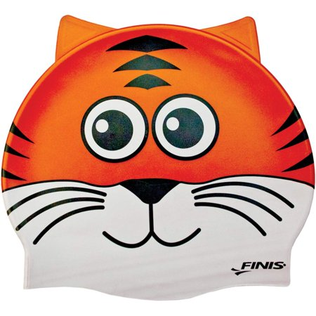 Animal Head Swim Cap (Tiger), Enjoy the water with these fun, youth-sized swim caps! By FINIS ()