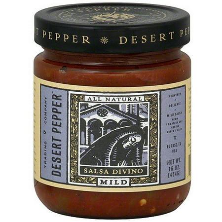 Desert Pepper Salsa Divino, 16 oz (Pack of 6)