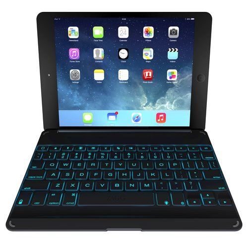 ZAGG cover Versatile Backlit Keyboard for Apple iPad Air, Black