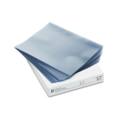 G3 Telemark Binding (New-C-Line 31357 - Vinyl Report Cover, Binding Bar, Letter, 60 Sheet Capacity, Clear, 100/Box - CLI31357 by C-Line, Front_Cover_Colors - Clear By)