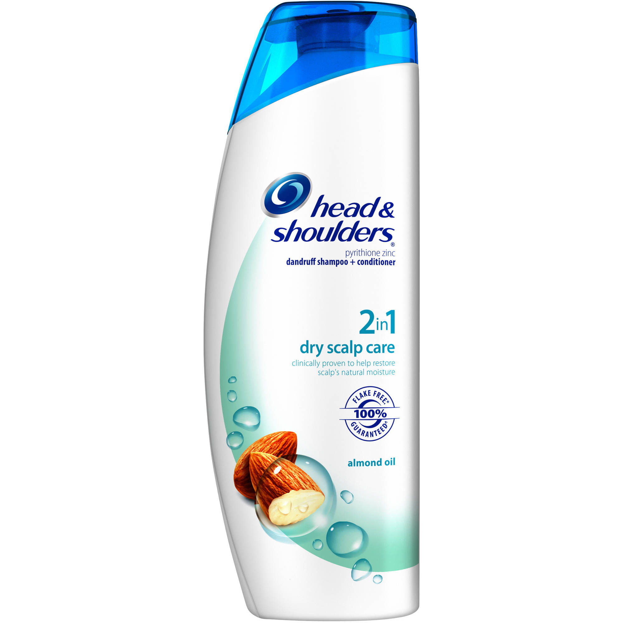 Head & Shoulders Dry Scalp Care Almond Oil Dandruff Shampoo + Conditioner, 33.8 fl oz