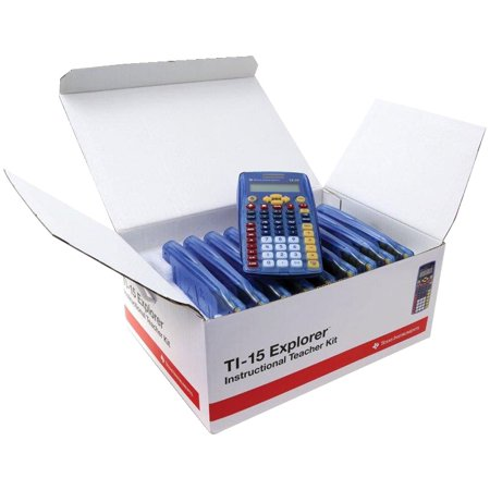 Texas instruments ti10tk 2-line calculator with large keys 10.