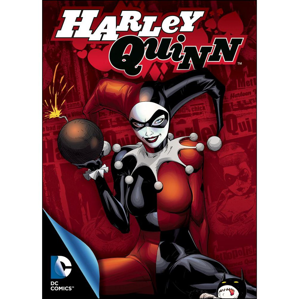 Harley Quinn Comic Playing Cards by NMR