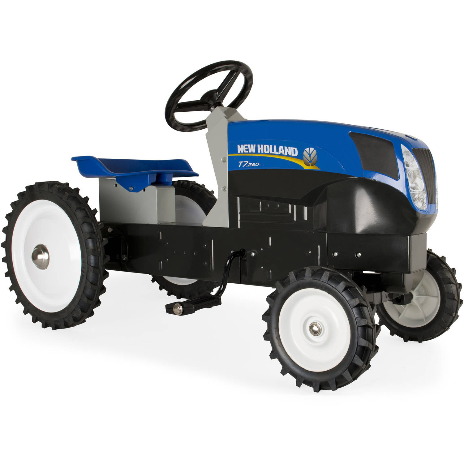 Ertl New Holland Pedal Tractor, Blue