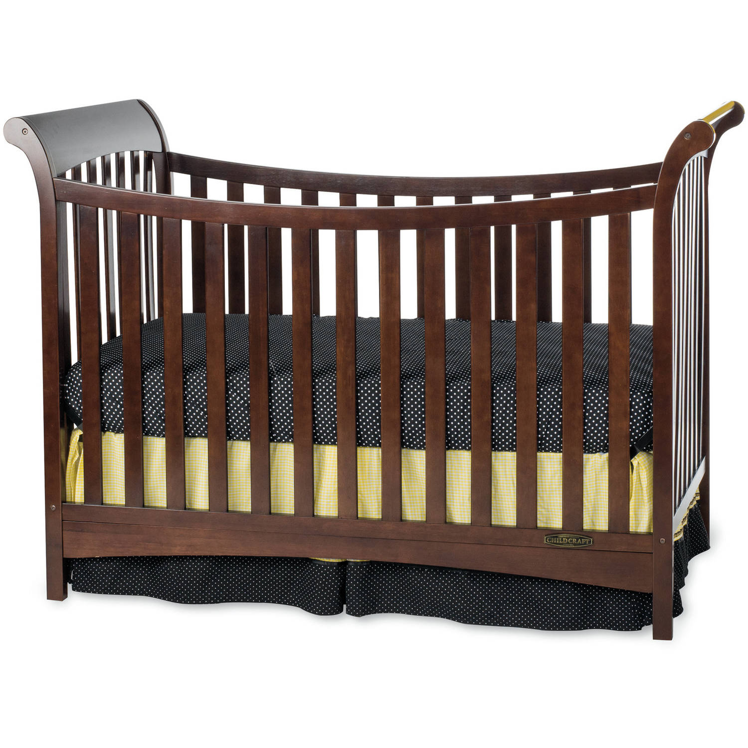 Child Craft Ashton 3-in-1 Traditional Crib, Select Cherry