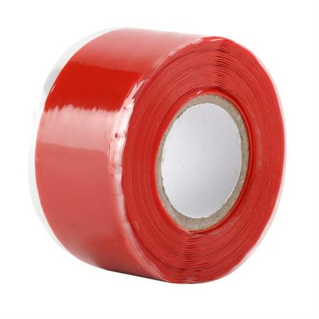 Yosoo Self Fusing Silicone Rubber Electrical Tape Waterproof Seal Repair for Water Pipe Hose, Insulated Silicone Tape, Silicone Rubber (Pipe Insulation Tape)