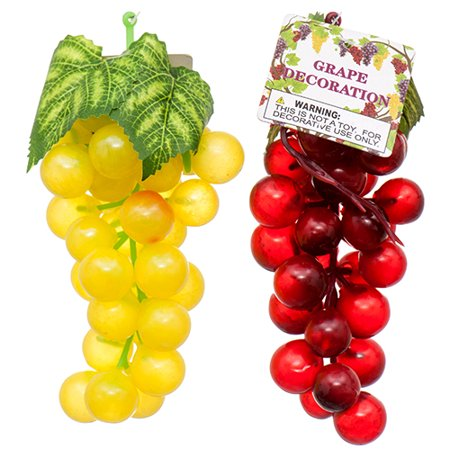 Discount Floral Supplies (New 373421  Grape Decor Asst (48-Pack) Artificial Flower And Plants Cheap Wholesale Discount Bulk Floral Supply Artificial Flower And Plants)