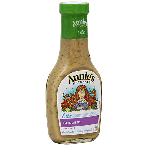 Annie's Naturals Lite Goddess Dressing, 8 oz (Pack of 6)