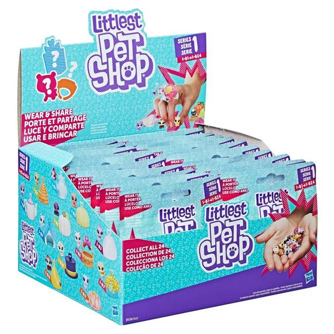 Hasbro HSBB9386 Littlest Pet Shop Blind Bag Pets Toys by Hasbro