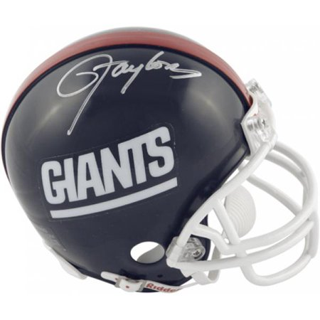 Lawrence Taylor New York Giants Autographed Riddell Mini Helmet - Fanatics Authentic Certified