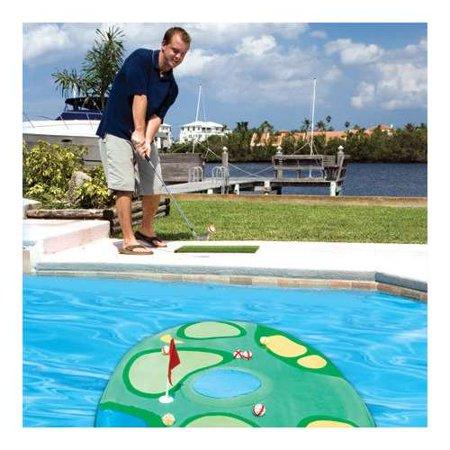 Pool Golf - SwimWays Pro-Chip Spring Mini Golf Swimming Pool Floating Game | 12210