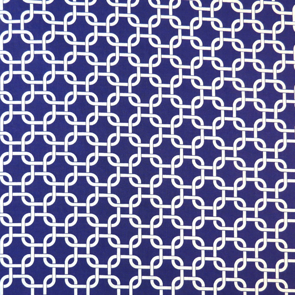 SheetWorld Fitted Crib / Toddler Sheet - Purple Links