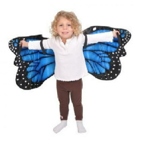 Blue Morpho Butterfly Plush Costume Wings By Adventure - Blue Butterfly Costumes