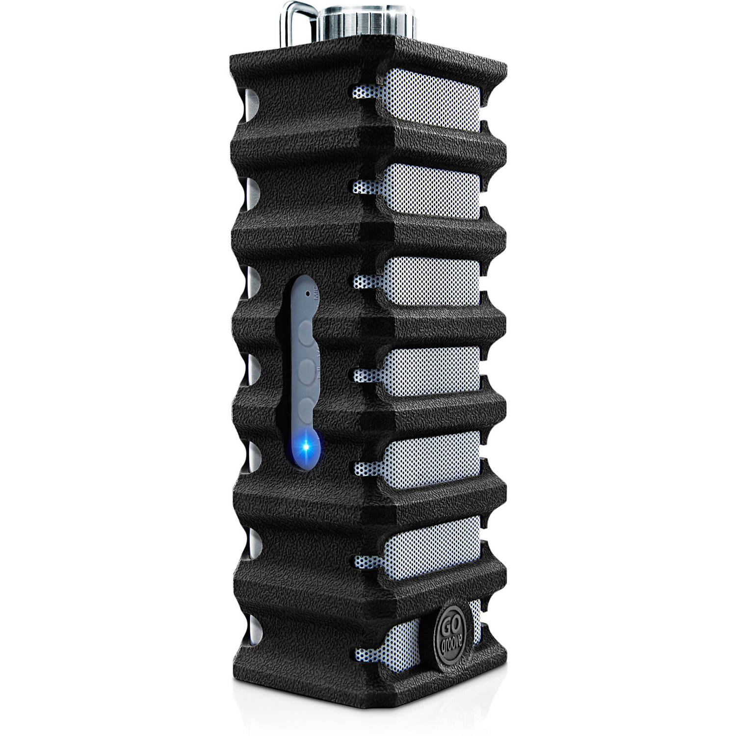 GOgroove Rugged Bluetooth IPX4 Water Resistant Outdoor Speaker with Shock Proof Silicone Protection & Built In Microphone - Works With Apple , Samsung , LG and More Smartphones!