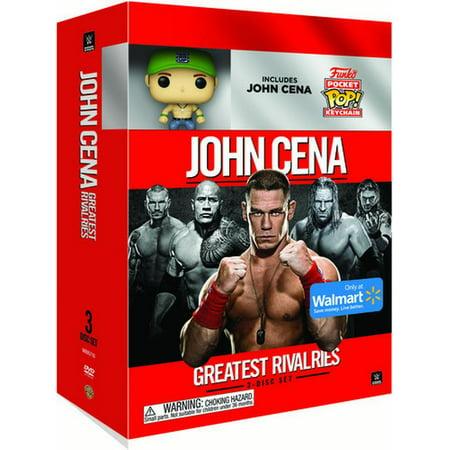 WWE: John Cena's Greatest Rivalries/John Cena Mini Funko