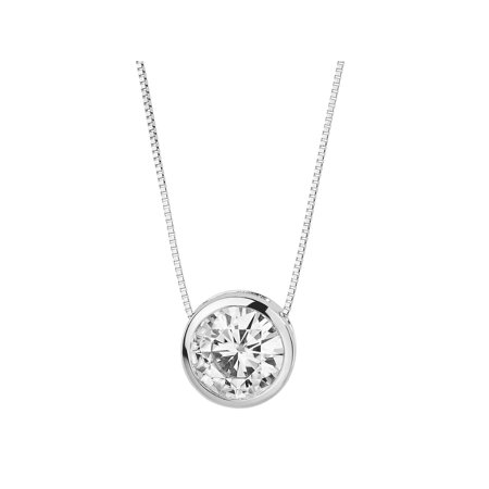 view shape classic yellow pendant moissanite s in gold p round yg set brilliant carat