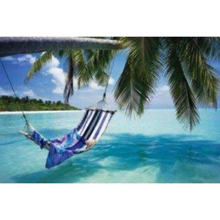 Tropical Beach Photo Art Print Poster 36x24 - Tropical Beach Photos