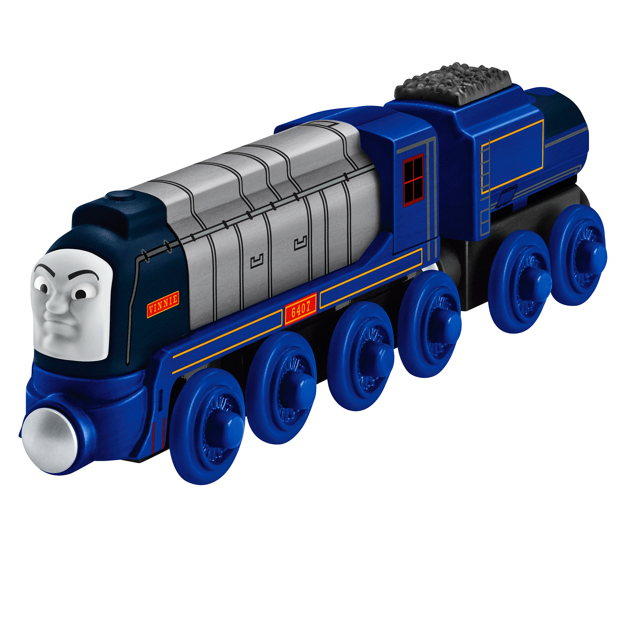 Fisher Price Thomas & Friends Wooden Railway Racing Vinnie by FISHER PRICE