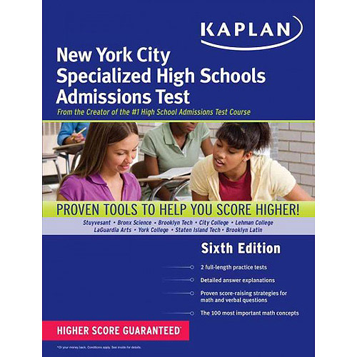 Kaplan New York City Specialized High Schools Admissions Test: Advanced Prep for Advanced Students