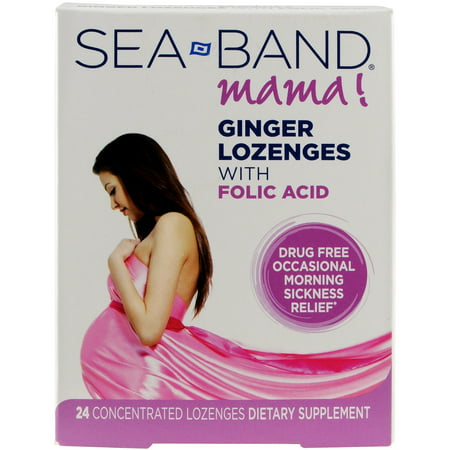 Sea-Band Mama! Acupressure Wristband for Morning Sickness Relief, 2