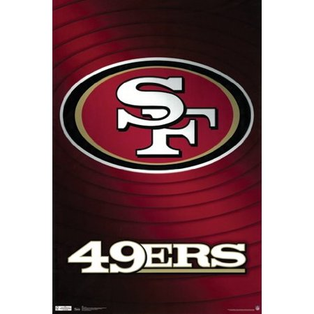 49ers Poster San Francisco Logo New 24x36