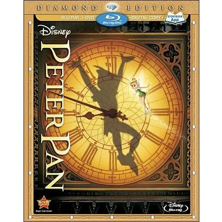 Peter Pan (Three-Disc Diamond Edition: Blu-ray/DVD + Digital Copy + Storybook App) - Tinkerbell Movie