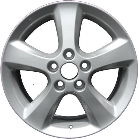 2004-2008 Toyota Solara  17x7 Aluminum Alloy Wheel, Rim Sparkle Silver Full Face Painted - 69452