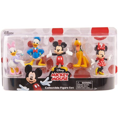 Disney Classics Mickey Mouse Clubhouse Deluxe Figure Set](Mickey Mouse Gift Wrap)