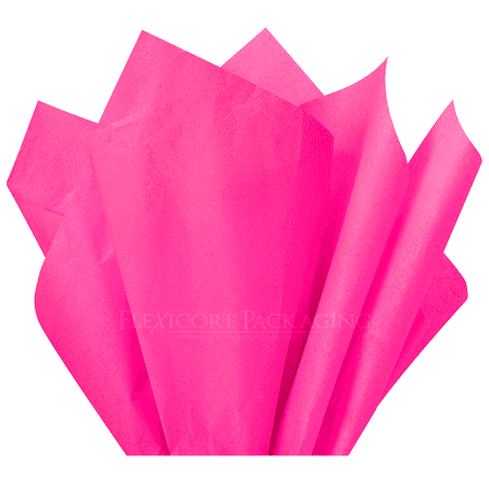 Hot Pink Tissue Paper, 15